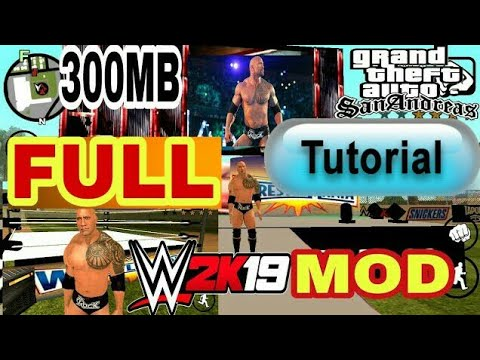 (Full tutorial) HOW TO INSTALL WWE 2K17 MOD IN GTA SAN ANDREAS WITH (LINK