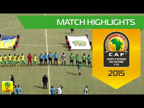 South Africa vs Zambia Highlights | U-23 Africa Cup Of Nations, SENEGAL 2015