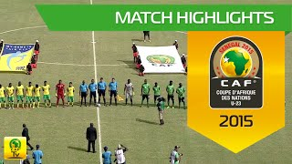 South Africa vs Zambia Highlights   U-23 Africa Cup Of Nations, SENEGAL 2015