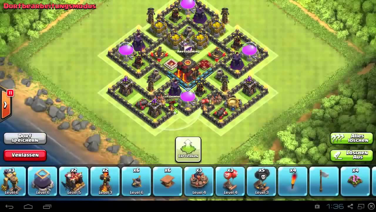 Clash of clans best town hall 9 trophy war base th9 speed build