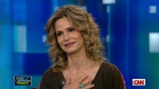 Kyra Sedgwick gets emotional over TV clip of Kevin Bacon