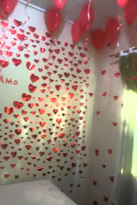 Decoração no quarto do namorado YouTube ~ Surpresa Em Quarto De Namorado