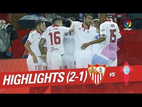 Resumen de Sevilla FC vs Celta de Vigo (2-1)