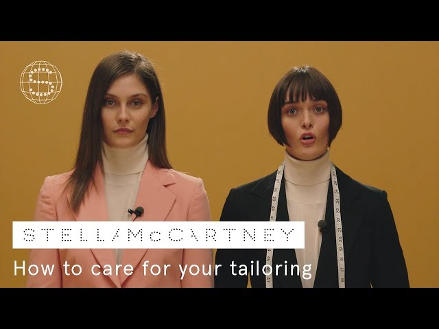 1. How to care for your tailoring | Stella McCartney