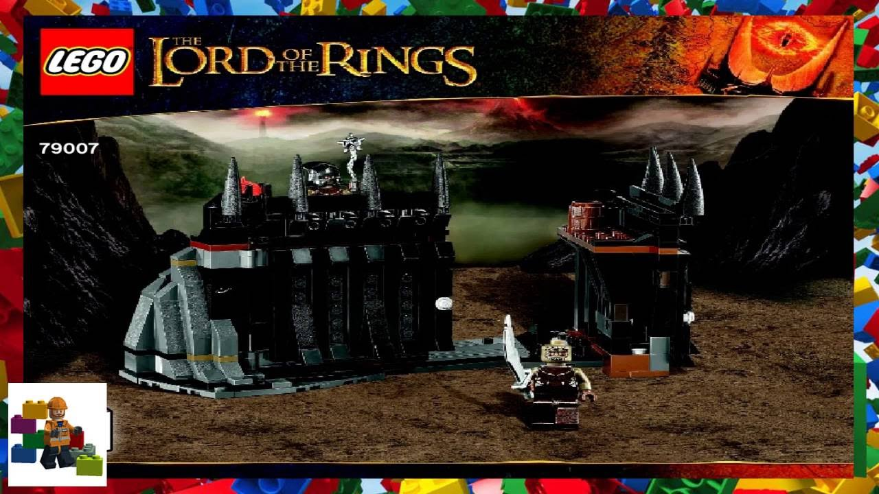 Lego Instructions The Lord Of Rings 79007 Battle At Black Gate Book 2