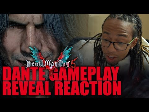 Devil May Cry 5 Dante Gameplay Reveal Trailer Reaction!