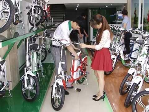 InfoTV đưa tin về xe đạp điện HKbike trong Bản tin Thị trường