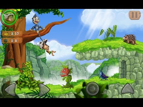 """Jungle Adventures 2 """"Adventure Platform  Games"""" Videos games for Kids - Girls - Baby Android"""