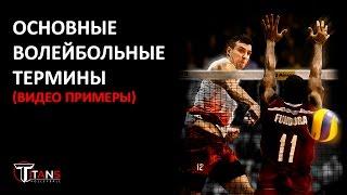 Волейбольные термины (видео примеры) (RUS)