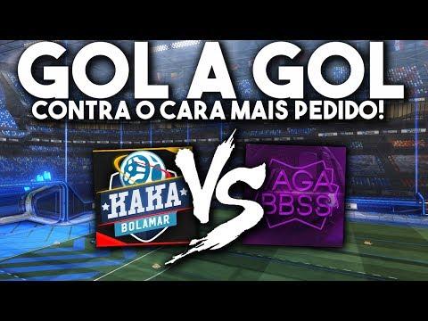 GOL A GOL CONTRA O CARA MAIS PEDIDO AQUI NO CANAL?! Vs Vagabbss - Rocket League