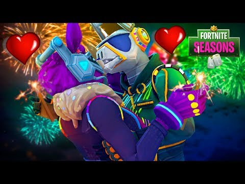 DJ Bop's KISS Makes Yonder FALL IN LOVE!! Fortnite Season 7 Film
