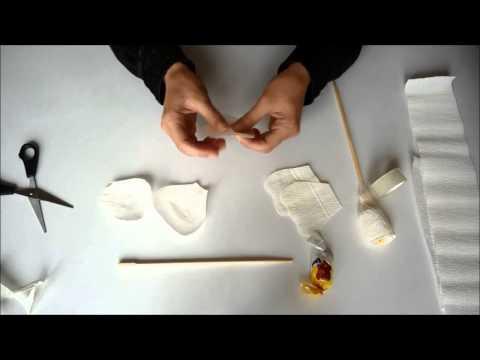 Букет из конфет, цветы из гофрированной бумаги