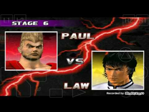PAUL Punch Powers How To Play Tekken -3 Android Game Play