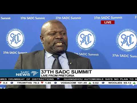 Growing economies of the SADC region: Lucky Mulusa