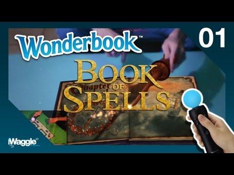 Wonderbook: Book Of Spells Walkthrough - Part 1/10 [Chapter 1] Set-Up / Wingardium Leviosa