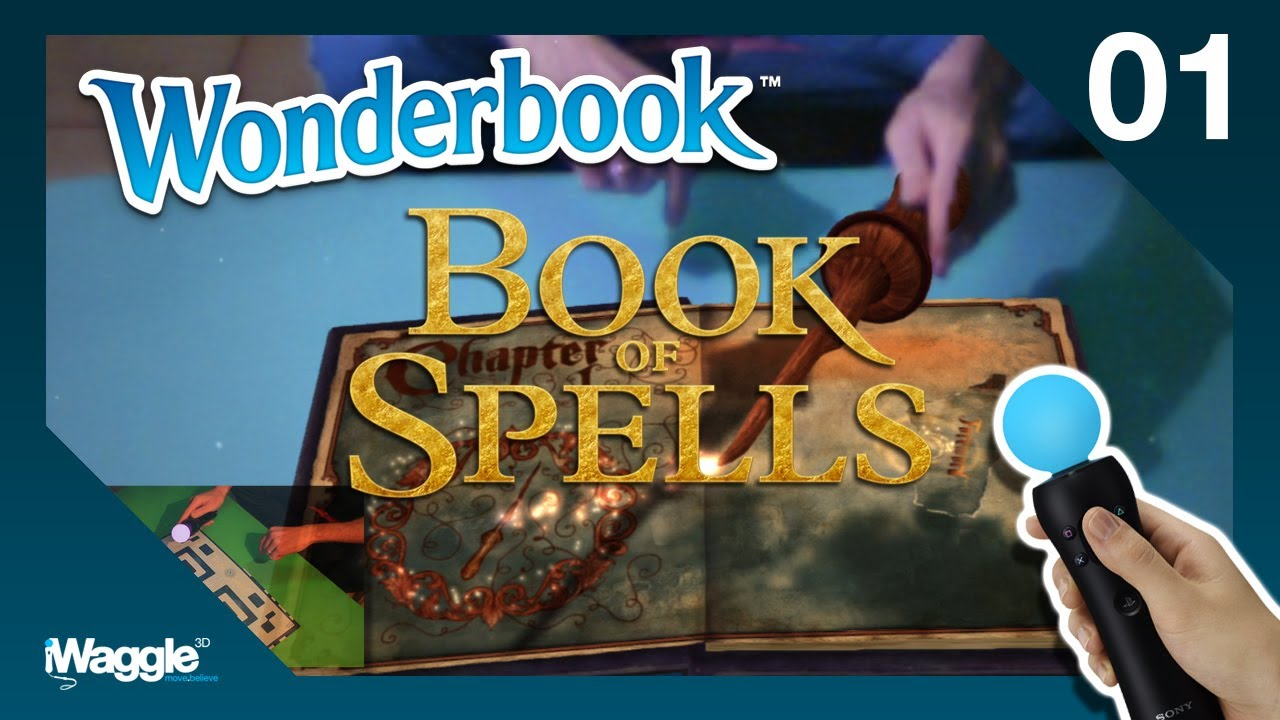 Wonderbook: Book Of Spells Walkthrough – Part 1/10 [Chapter 1] Set-Up / Wingardium Leviosa
