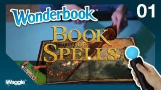 Wonderbook: Book Of Spells Walkthrough - Part 1/10 [Chapter 1] Set-Up / Wingardium Leviosa