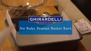 Ghirardelli Chocolate And Peanut Butter Bars Recipe