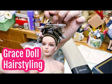 Doll Shop Show: Robert Tonner Grace Doll Hairstyling Tips + More Doll Repair Tips Video