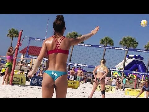 WOMEN'S OPEN | Semifinal Two | East End Beach Volleyball | Clearwater Beach FL