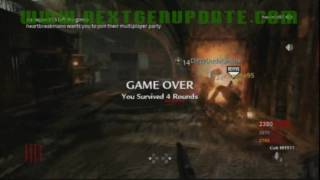 Call of Duty 5 Glitches -- Nazi Zombies: Never Ending Game -- All Maps (2 Methods)