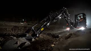 Eurocomach Mini Excavators Australia