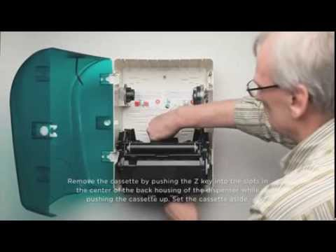 Changing the Cover of a Baywest Wasau OptiServ® Dispenser | www.tensens.com.au