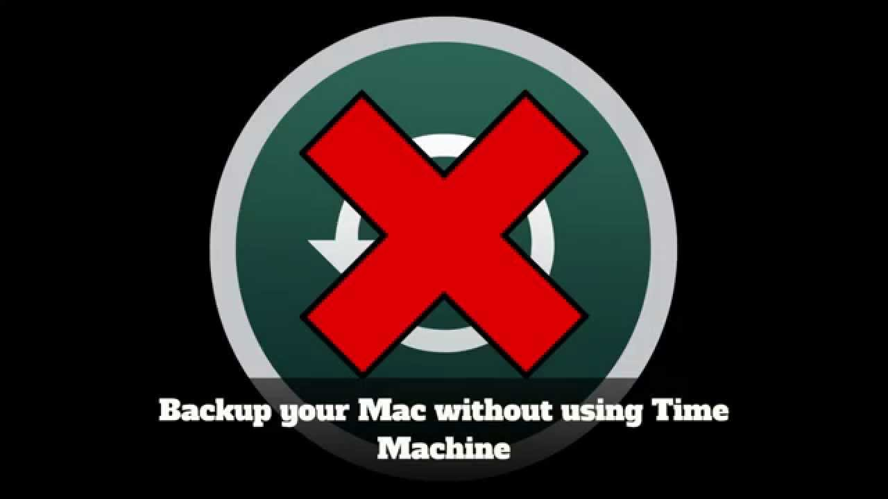 how to backup mac without time machine