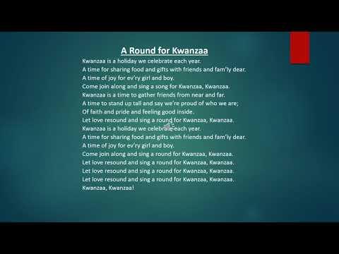 A Round for Kwanzaa