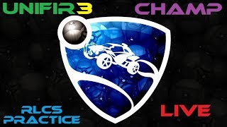 ROCKET LEAGUE (RLCS Training + CHAMP) #8 | PS4 Gameplay + GIVEAWAY!!! | LIVE Stream