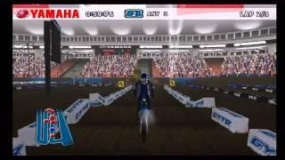Yamaha Supercross Wii Gameplay