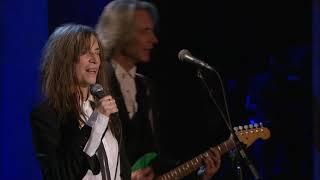 Patti Smith performs