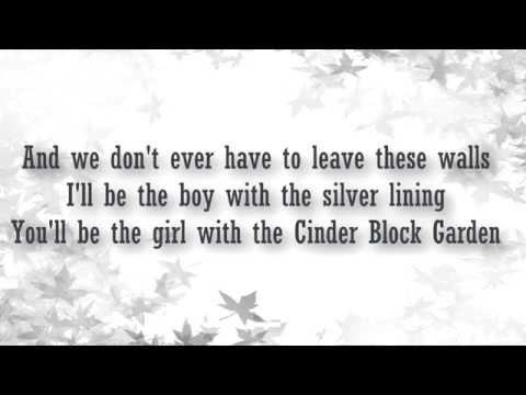All time low - Cinderblock Garden lyrics video