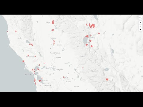Map Shows Dozens Of California Cities And Towns At Risk In Case Of Evacuation