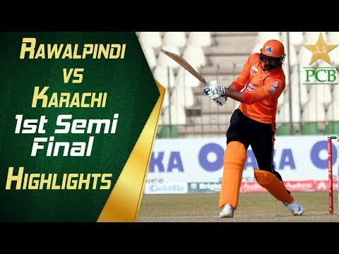 1st Semi Final: Rawalpindi Region vs Karachi Region Whites at Multan | Highlights | PCB