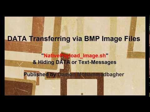"Data Transferring via BMP Image files and ""NativePayload_Image.sh v2"""