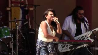 Rebecca Arscott & One Heart Fyah @ New Mexico State Fair Indian Village 2016 Clip 1