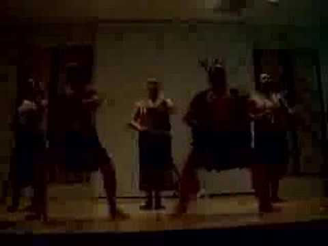Warrior Dance of Maori People