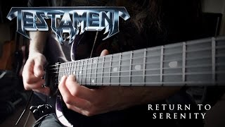 Return To Serenity (Testament Cover)