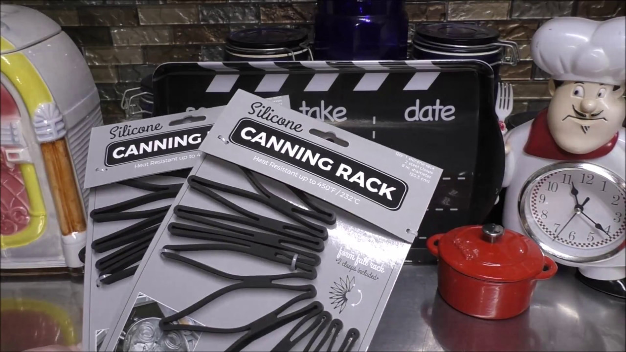 silicone canning rack