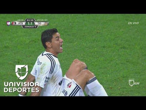 Horrible lesión de rodilla de Óscar Ustari en el Atlas vs Tigres   Liga MX
