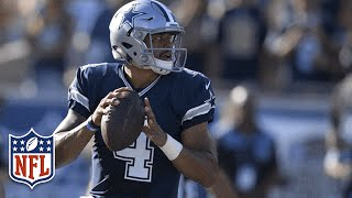 Every Dak Prescott Throw from Week 1 | 2016 NFL Preseason Highlights