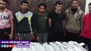 ضبط ورشة لتصنيع الأسلحة النارية بأبو حمص.. فيديو