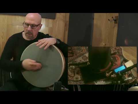 World Percussionist Tom Teasley Demonstrates Cooperman 99 Slapback and Valter Shake-plate