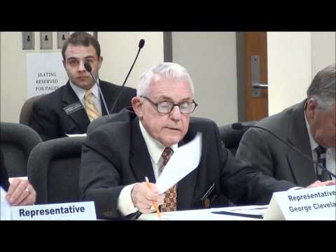 Rep. George Cleveland - The Cost of Illegal Aliens