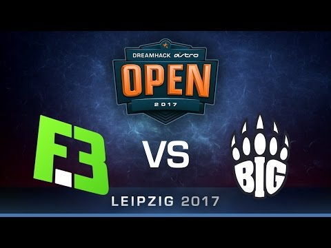 FlipSid3 vs BIG [Map 1 BO1] DreamHack ASTRO Open Leipzig 2017