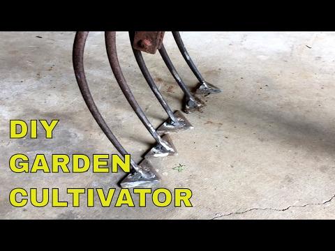 DIY Garden Cultivator~THIS WORKS FANTASTIC!