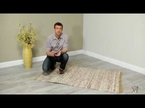 Linon Verginia Berber Dark U0026 Natural Area Rug   Product Review Video