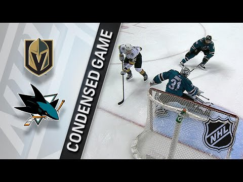 03/22/18 Condensed Game: Golden Knights @ Sharks
