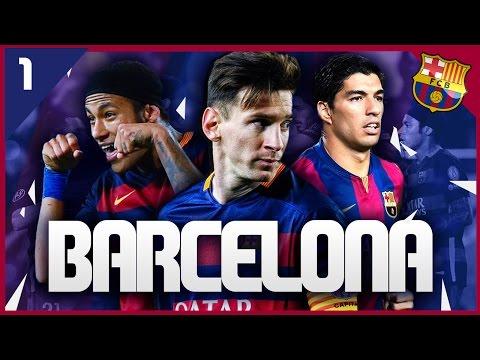 FIFA 16 Career Mode: FC Barcelona #1 - The Barça Project